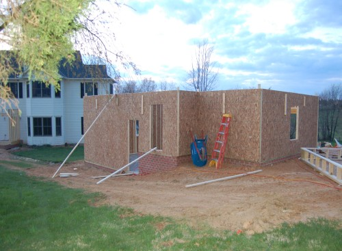 From the Back with Sheathing