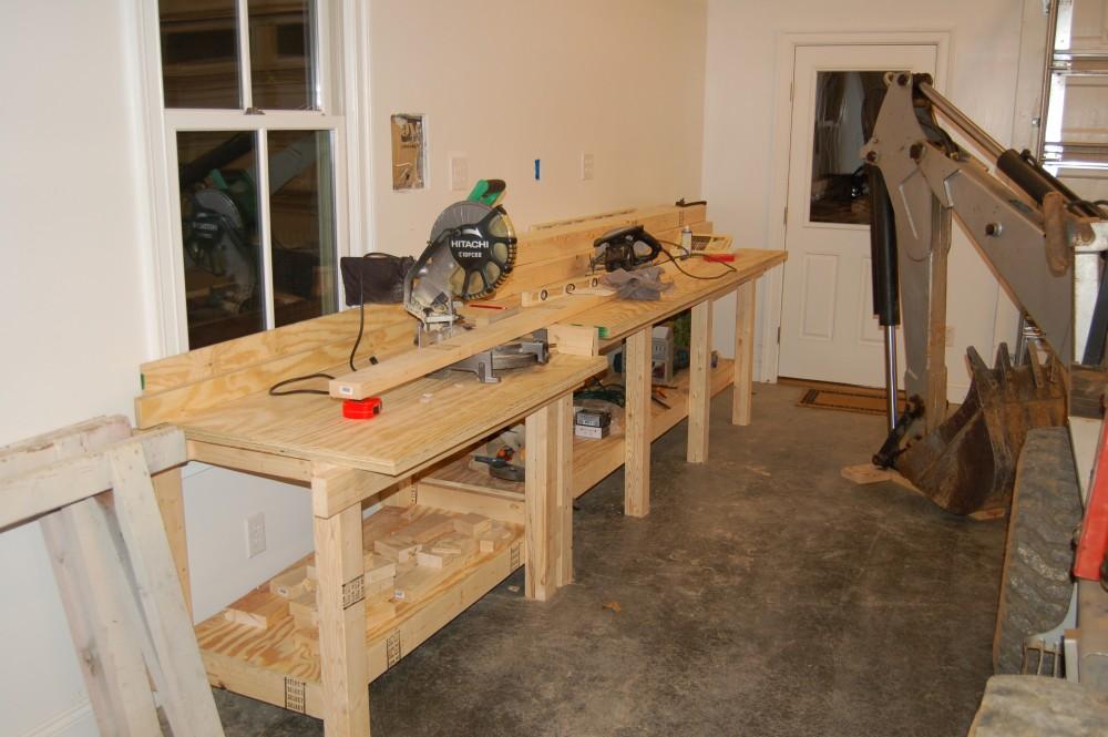 Garage Workbench 2x4 Wwwpixsharkcom Images Galleries